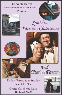 New Orleans Welcomes Parisian Chanteuse!